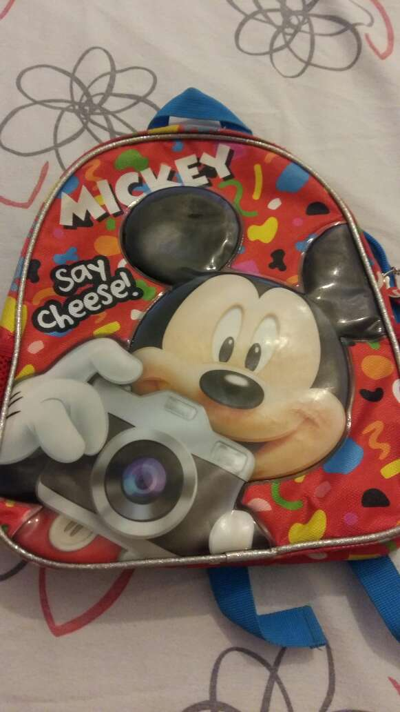 Imagen Mochilita Mickey Mouse