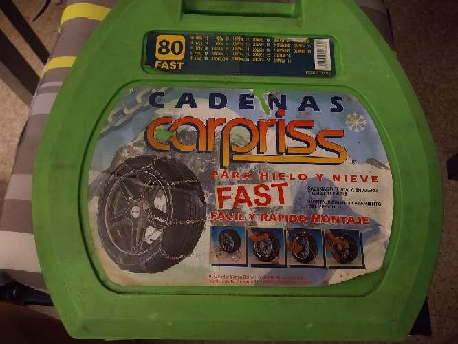 Imagen producto Cadenas carpris fast 80  1