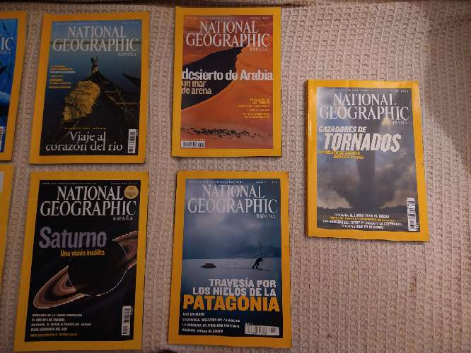 Imagen producto Revistas National Geographic 2