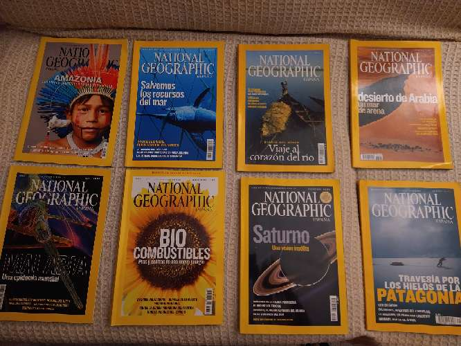 Imagen revistas National Geographic