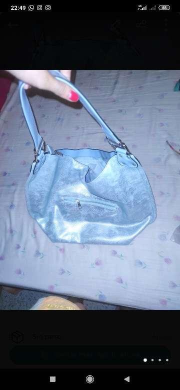 Imagen bolso azul