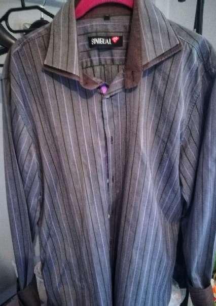 Imagen Camisa de manga larga Sinigual xl slim fit