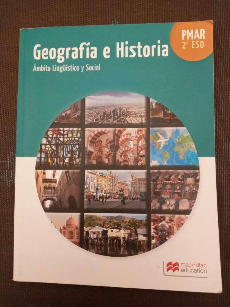 Imagen Libro de geografía e historia PMAR 2ESO