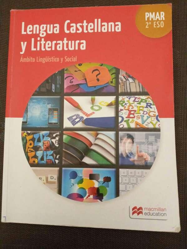 Imagen Libro de lengua castellana y literatura PMAR 2ESO