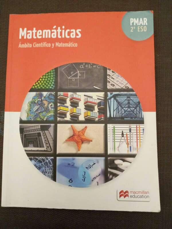 Imagen Libro de matemáticas PMAR 2ESO