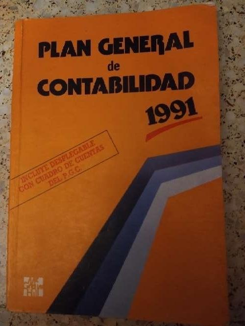 Imagen libro que se regala plan general de contabilidad año 1991 McGraw-Hill,
