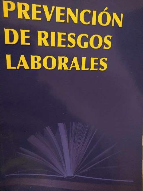 Imagen libro que se regala prevención de riesgos laborales