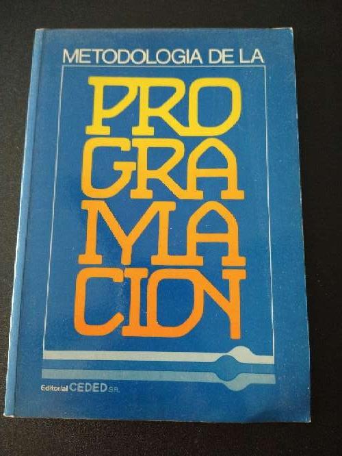 Imagen libro que se regala metodología de la progeamacion
