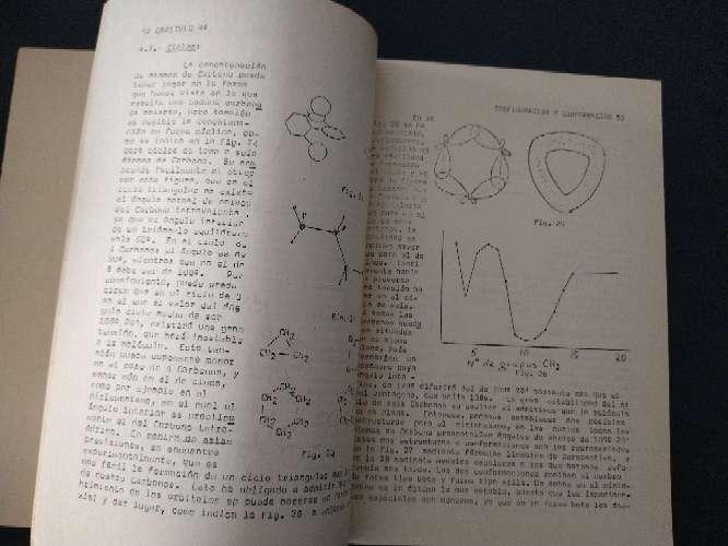 Imagen producto Libro que se regala antiguo de apuntes de química orgánica, parte I,  4