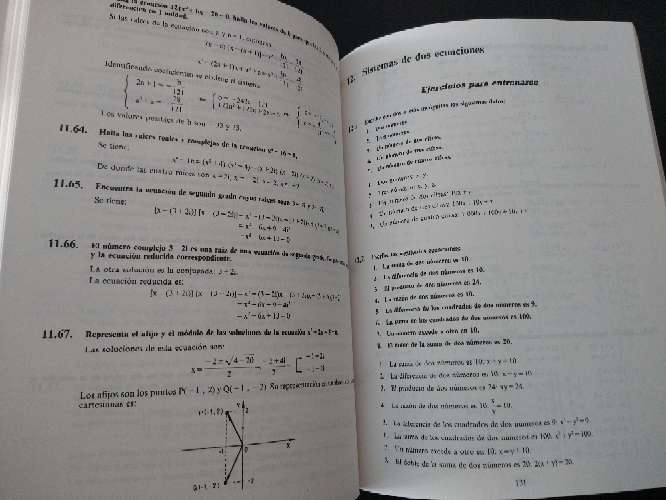 Imagen producto Libro que se regala de problemas de matemáticas B.U.P. 1 2