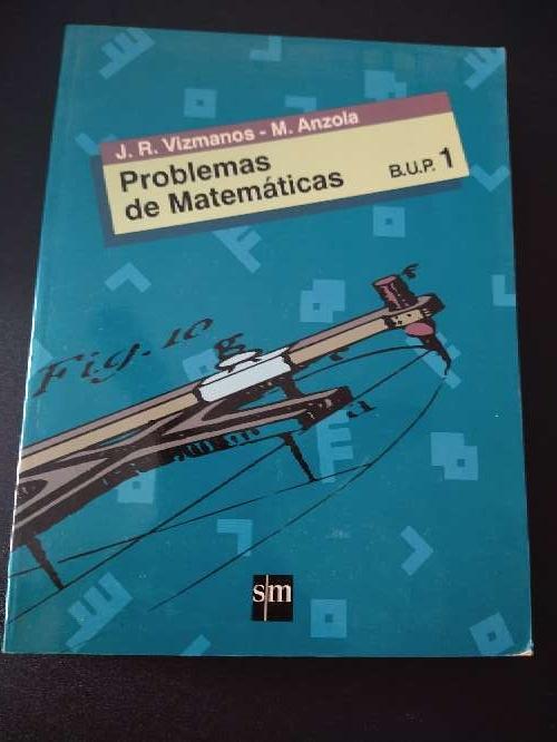 Imagen libro que se regala de problemas de matemáticas B.U.P. 1