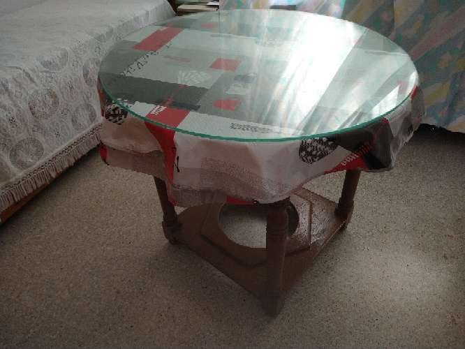 Imagen mesa de camilla redonda