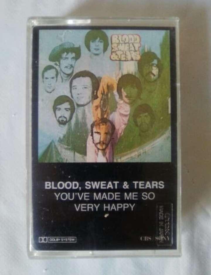 Imagen Blood Sweart & Tears cassette.