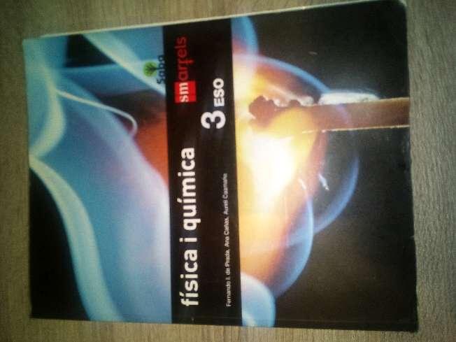 Imagen Libro fisica y quimica de 3 de la eso(vendo mas libros de 3 de la eso, si les interesa pregunten sin problema).