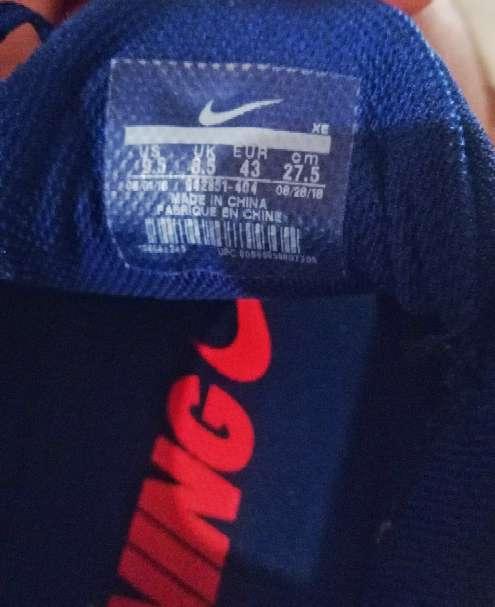 Imagen producto Nike zoom pegasus 35 talla 43  4