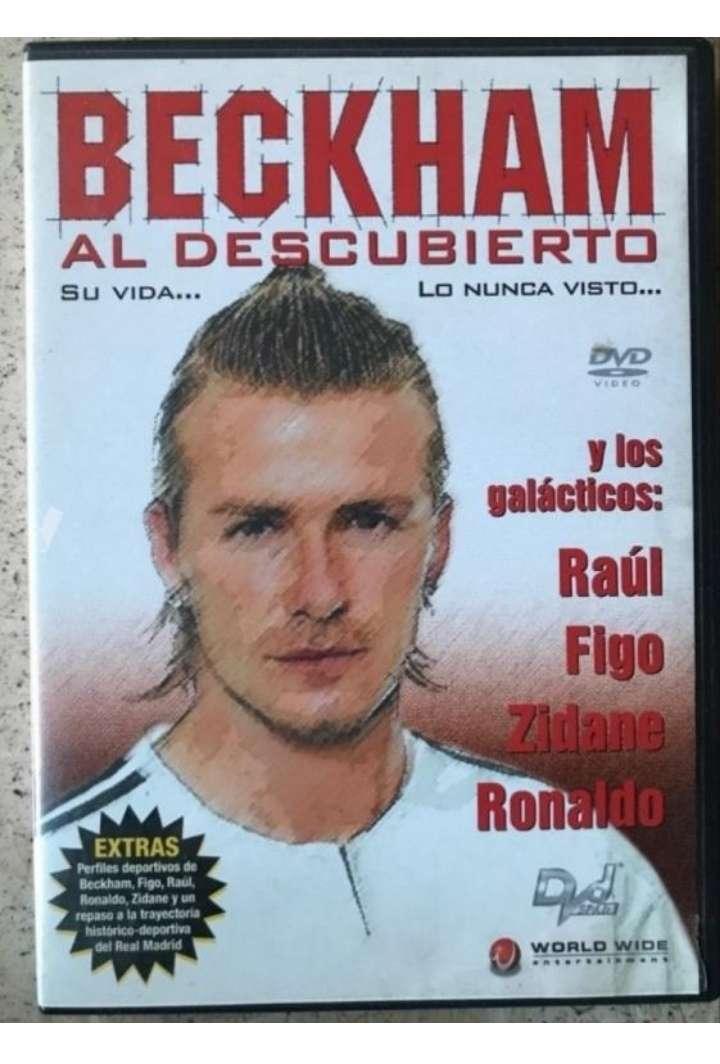 Imagen Devid Beckham DVD.