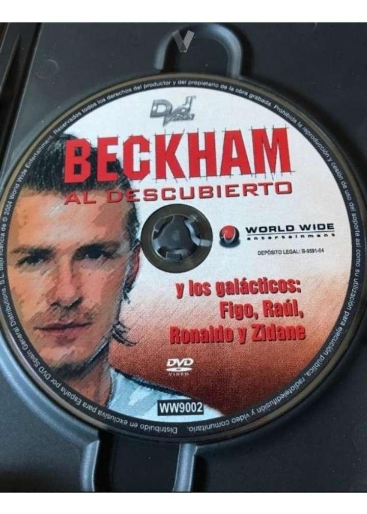 Imagen producto Devid Beckham DVD.  2