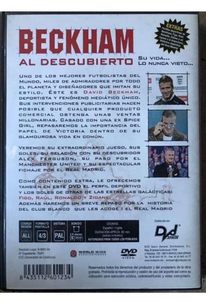 Imagen producto Devid Beckham DVD.  3