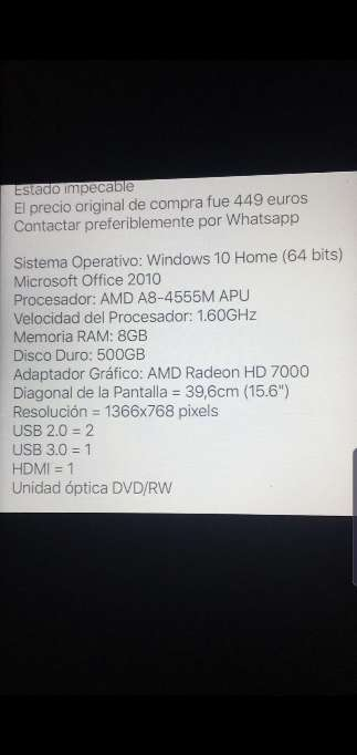 Imagen producto Ordenador Portátil HP ProtectSmart 4