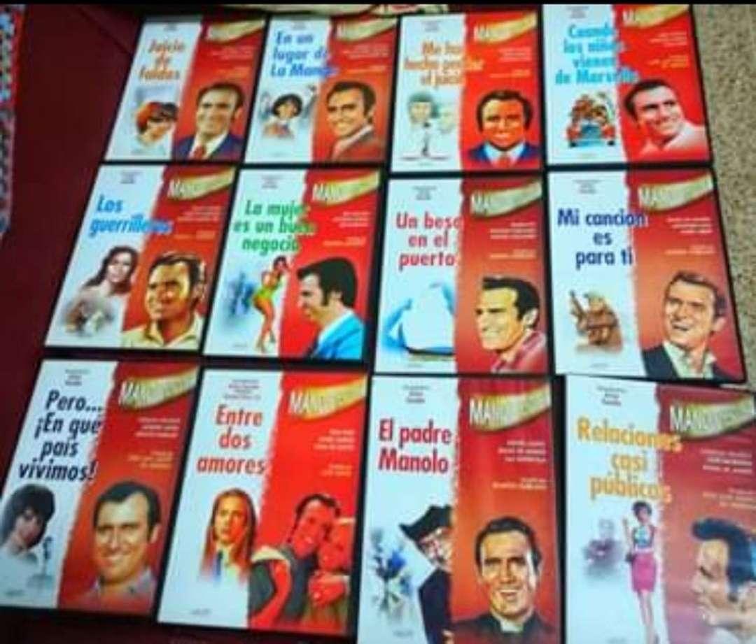 Imagen Colección 12 películas DVD Manolo Escobar.