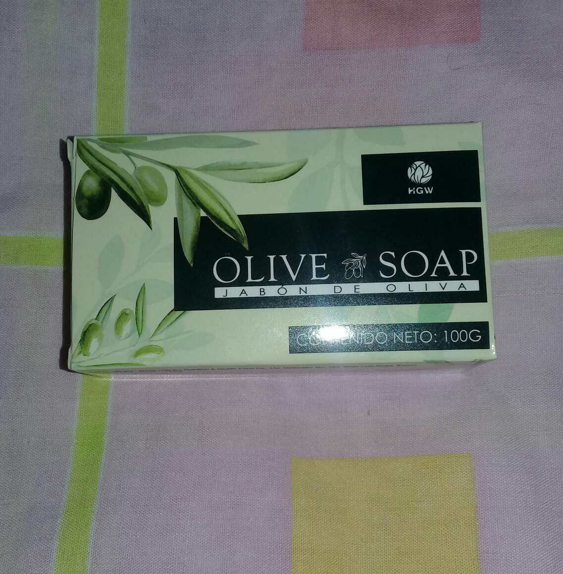 Imagen producto Jabón OLIVE SOAP de HGW 4