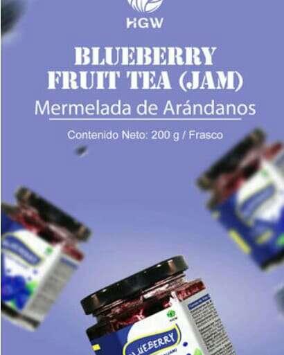 Imagen producto Mermelada BLUEBERRY FRUIT TEA (jam) de HGW 2
