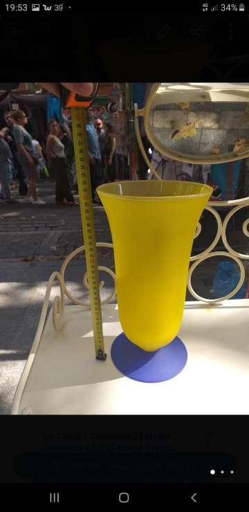 Imagen producto Jarron de cristal mallorquín  2