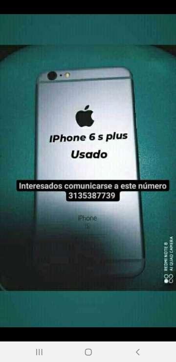 Imagen IPhone 6 s plus