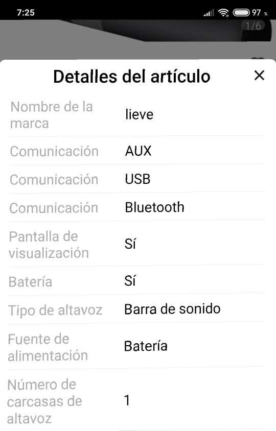Imagen producto Barra de sonido Bluetooth  3
