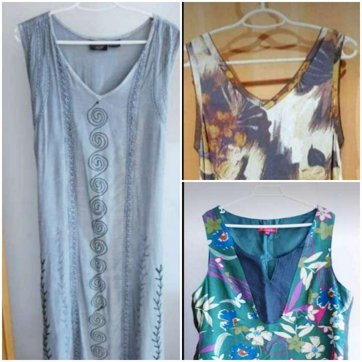 Imagen Lote 3 vestidos señora talla 42.