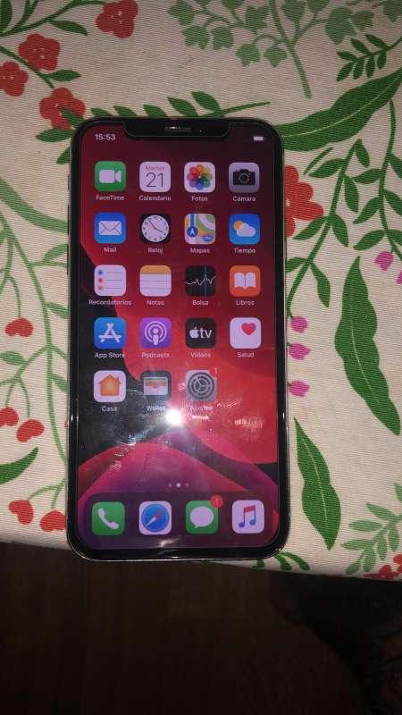 Imagen producto Iphone x  de 64gb de memoria color  blanco  2
