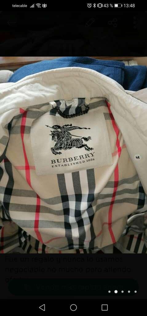 Imagen producto Chaqueta burberry nueva original mujer talla s 2