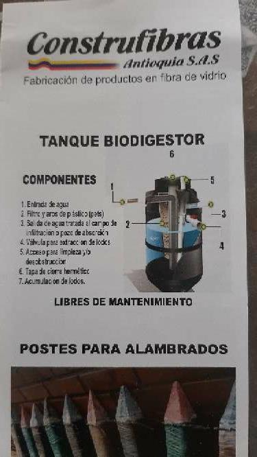 Imagen producto Bio septicos libres de mantenimiento 1