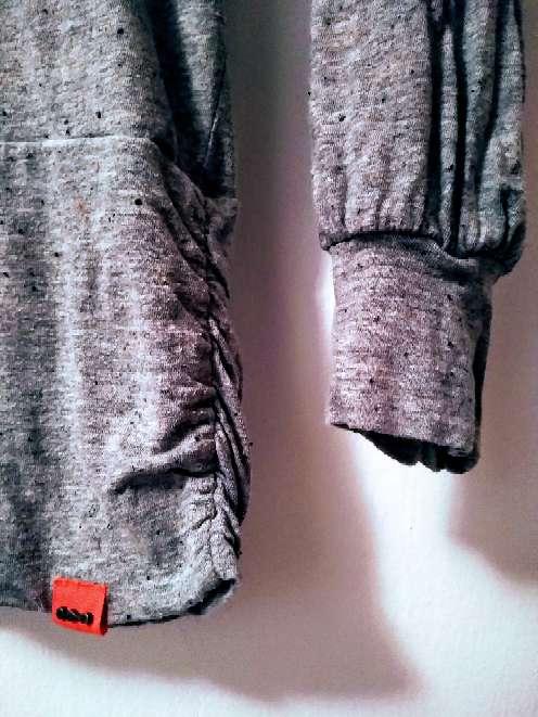 Imagen producto Skunfunk jersei básico cuello alto gris T2 2