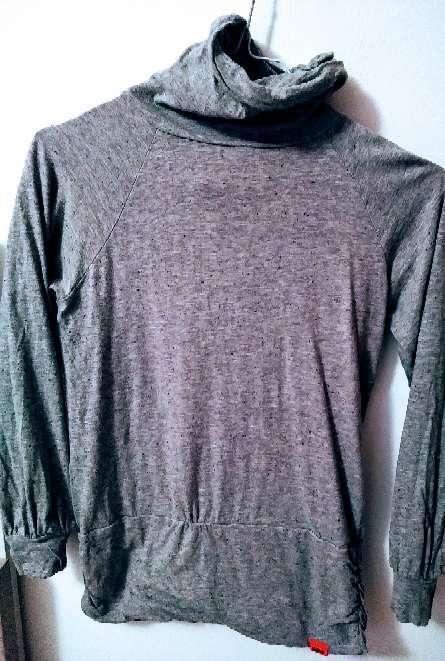 Imagen Skunfunk jersei básico cuello alto gris T2
