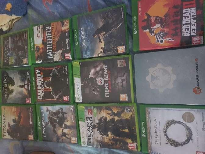 Imagen lote videojuegos xbox