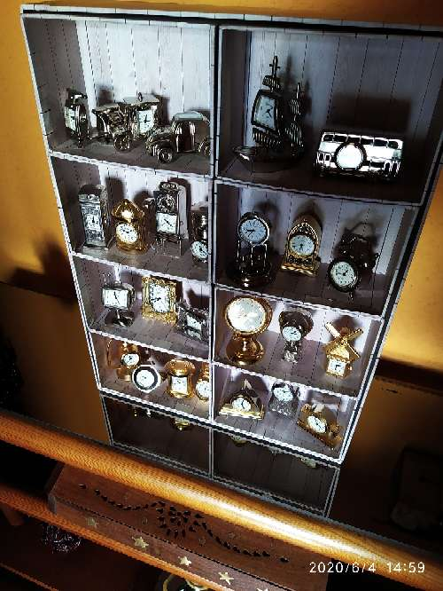 Imagen Colección relojes miniatura.