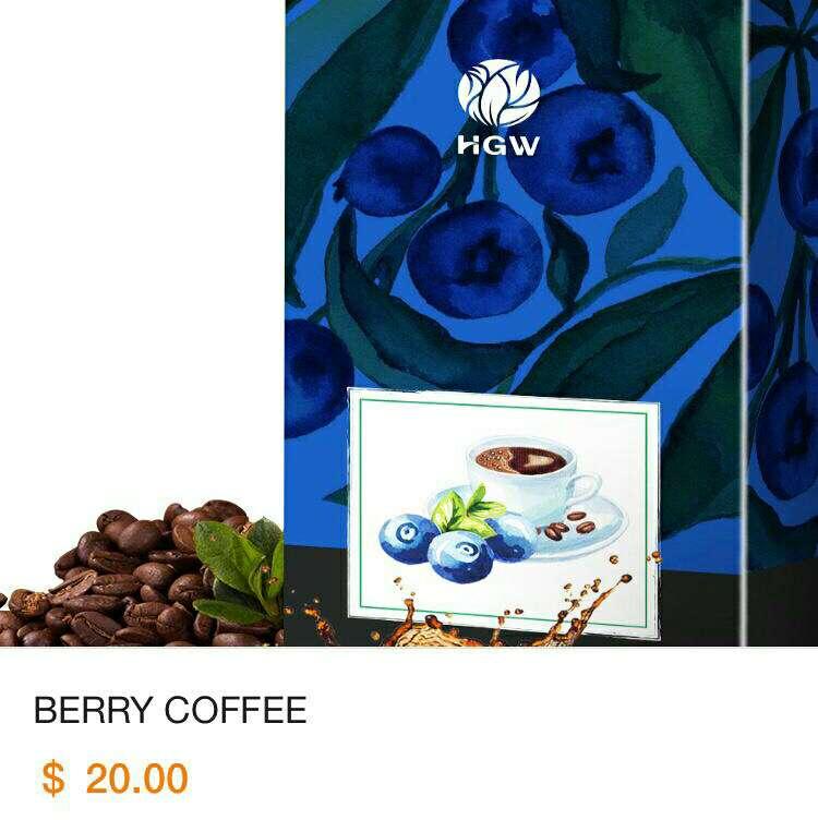 Imagen Café con Arándanos BerryCoffee de HGW