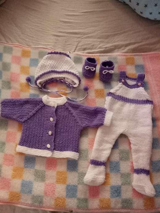 Imagen Conjunto de lana para bebé