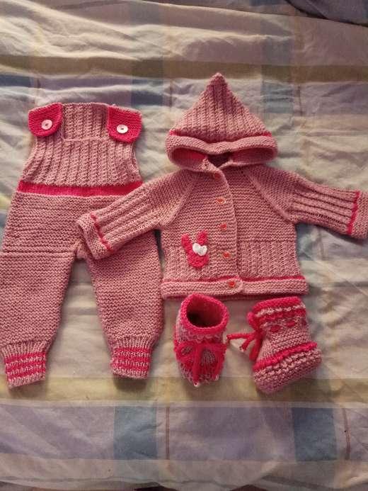 Imagen Conjunto calentito bebé niña