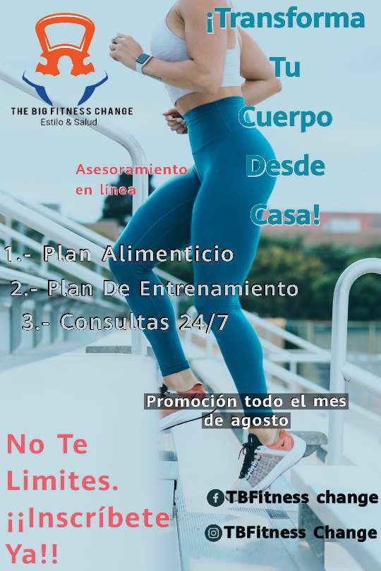 Imagen producto The Big Fitness Change  1