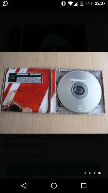 Imagen 2CDs RAMMSTEIN REISE REISE Y SENSUCHT