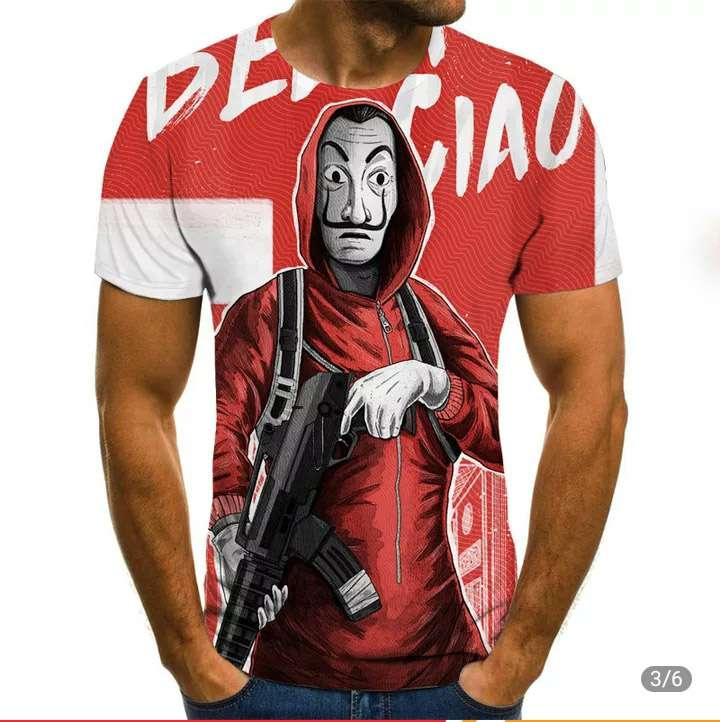 Imagen Camisetas nuevas de LA CASA DE PAPEL