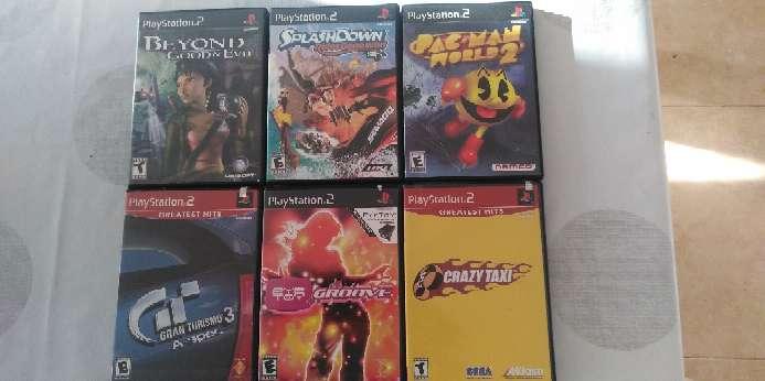 Imagen juegos Playstation 2 americanos