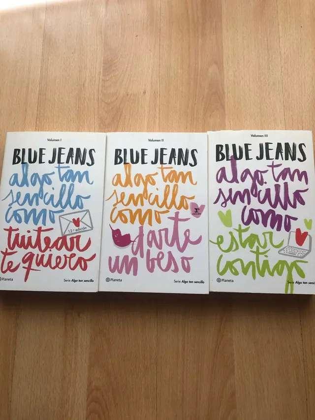 Imagen libros de blue jeans