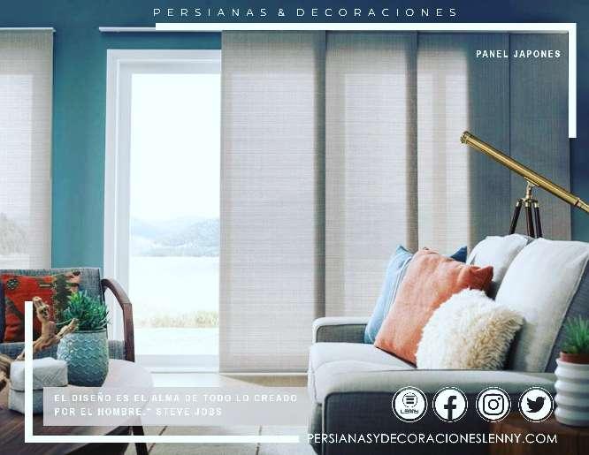 Imagen Persianas para ventanales grandes
