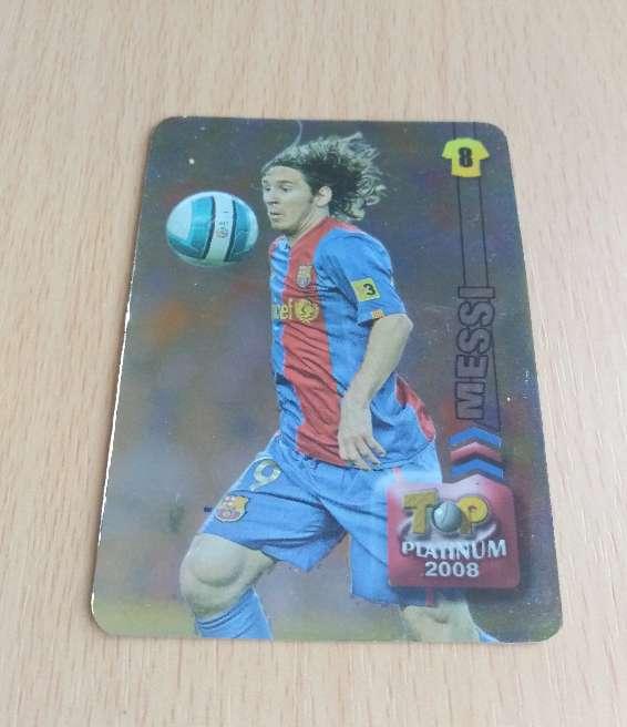 Imagen Messi card - cromo fútbol.