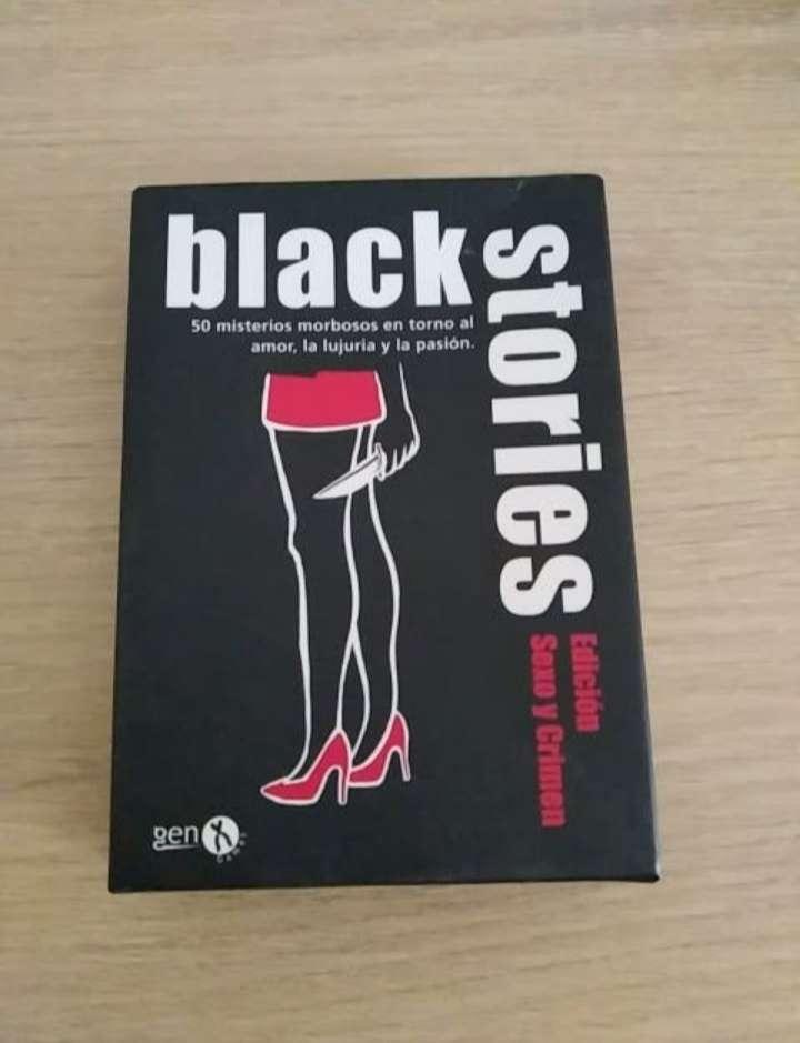 Imagen Juego Black Stories (Sexo y crimen)