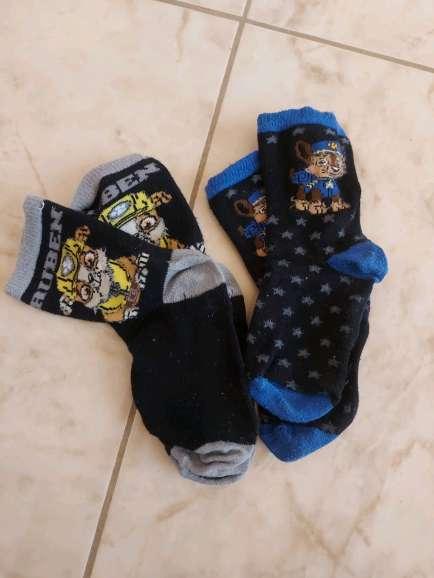 Imagen calcetines la patrulla canina, para niños