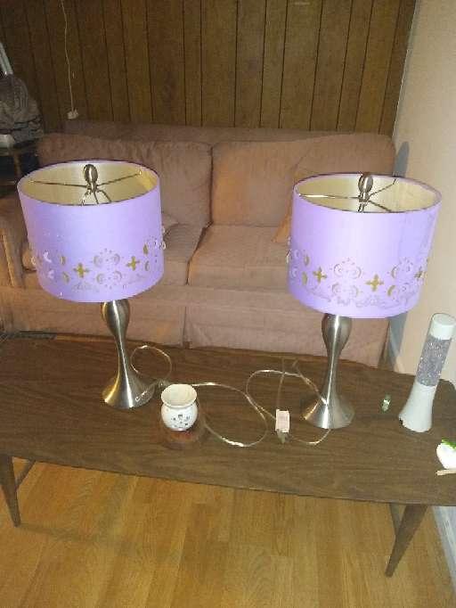 Imagen Bedroom lamp set/ juego de lámparas